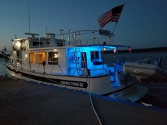 Docked at Keokuk Yacht Club