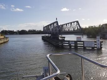 Swing bridge on ICW