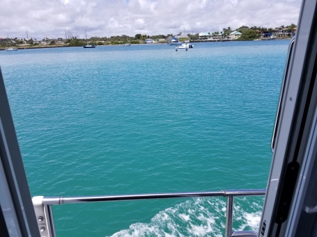 Beautiful water in Biscayne Bay