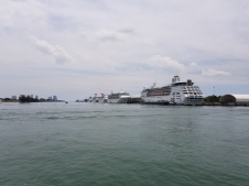 Cruise ships at Port of Miami